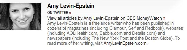 Amy Levin Epstein bio