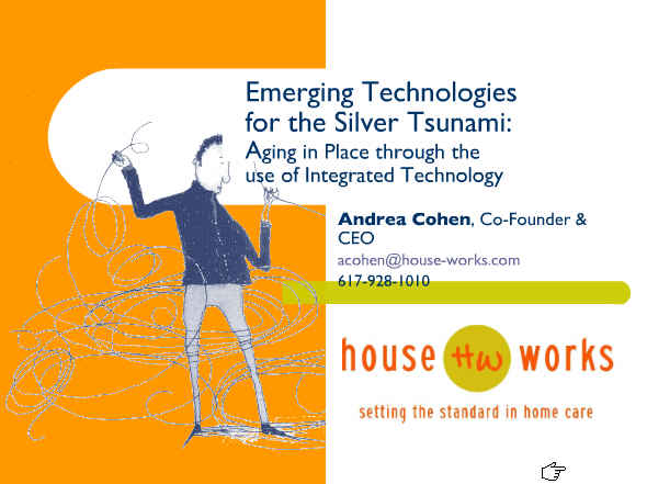 Andrea Cohen Aging in Place Technology Slides