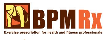 Home Exercise Plans BPM Rx