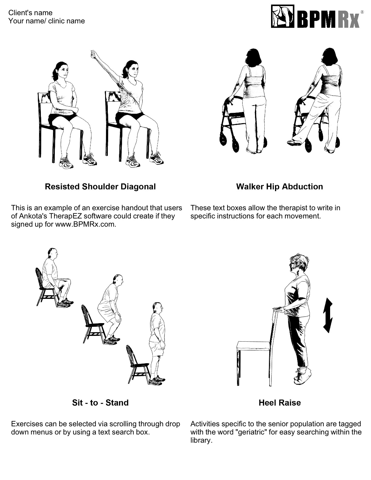 Home Exercise Plan for Physical Therapy