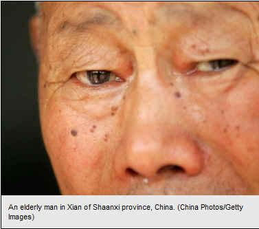 Elder Chinese Person