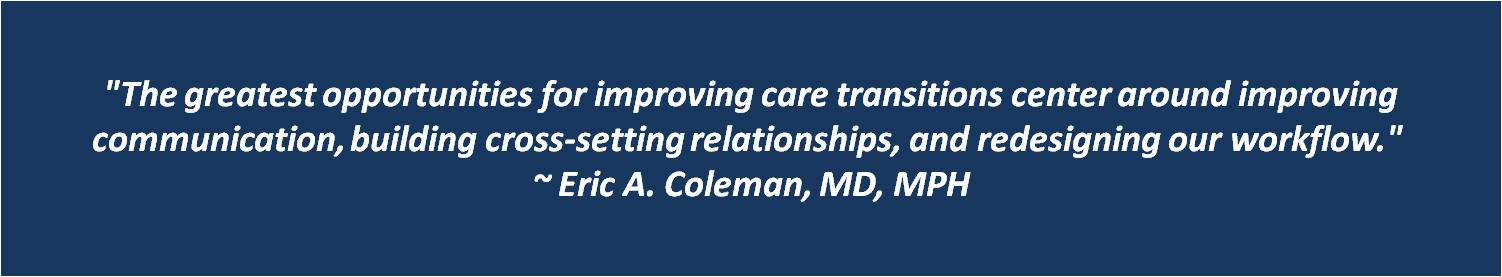 Eric Coleman Quote