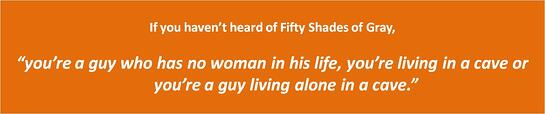 Fifty Shades of Gray quote