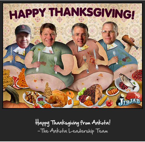 Happy Home Care Thanksgiving from Ankota