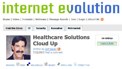 Healthcare Solutions Cloud Up