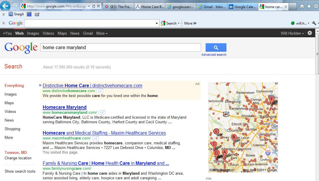 Home Care SEO Maryland