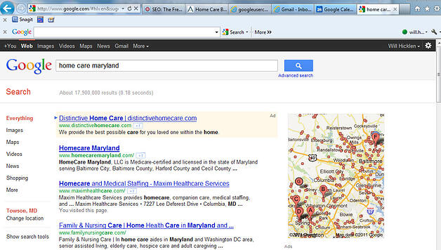 Home Care SEO Maryland