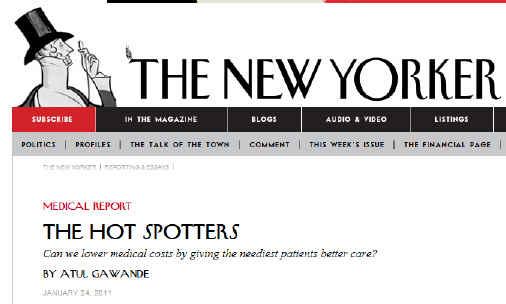 Hot Spotters Atul Gawande New Yorker