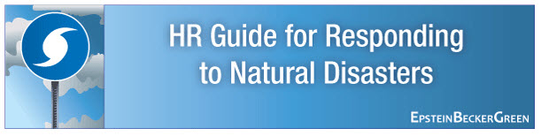 HR Guide for Natural disasters