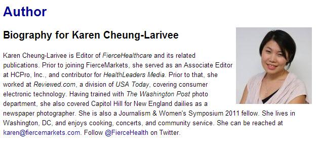 Karen Cheung Larivee bio Care Transitions
