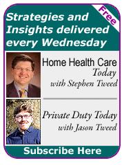leading homecare newsletter signup