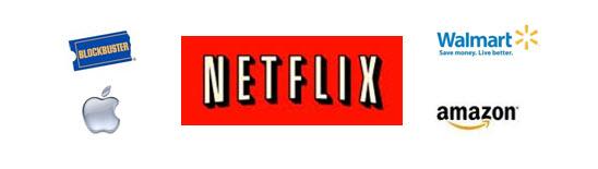 netflix competitor logos