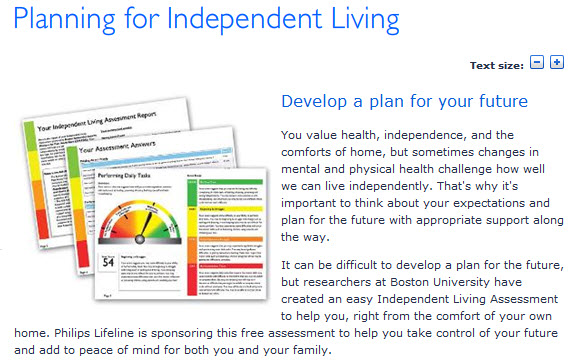 Philliips Independent Livign Assessment 2