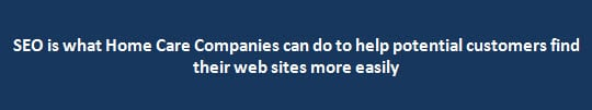SEO for Home Care