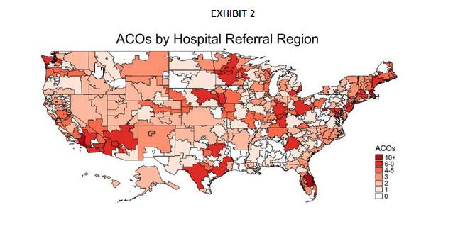 ACOs by Hospital Referral Region
