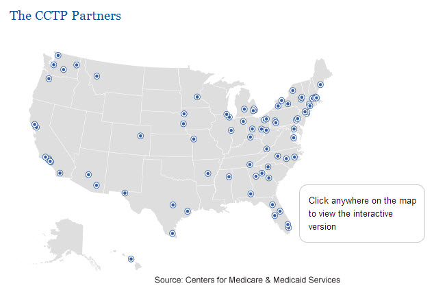 CMS CCT Map