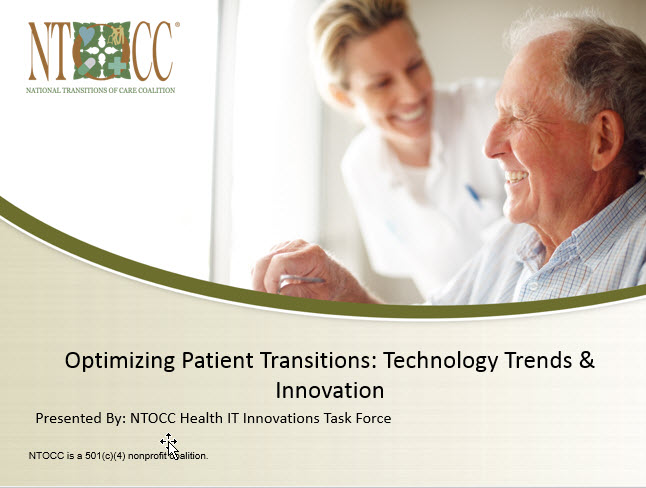 NTOCC Care Transitions Webinar