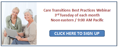 Free Care Transitions Best Practices Webinar Series