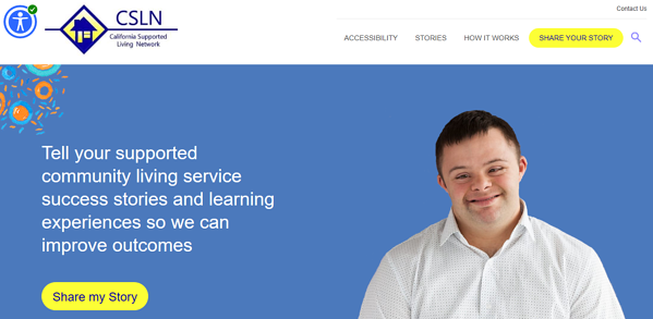 CSLN and Ankota Accessibility website