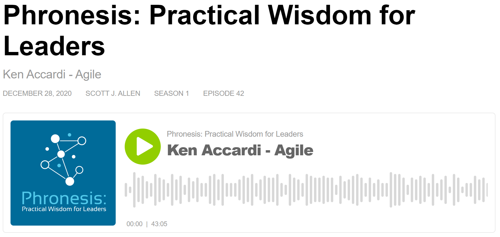 Agile Podcast for Home Care Leaders