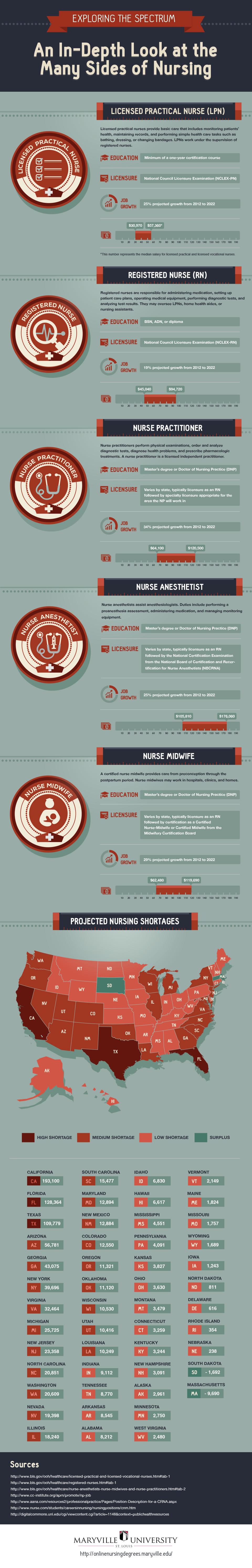 Maryland University_Nurse Infographic _Ankota Home Care blog