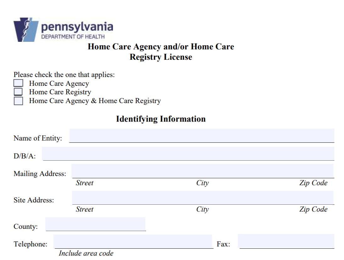 Pennsylvania Home Care