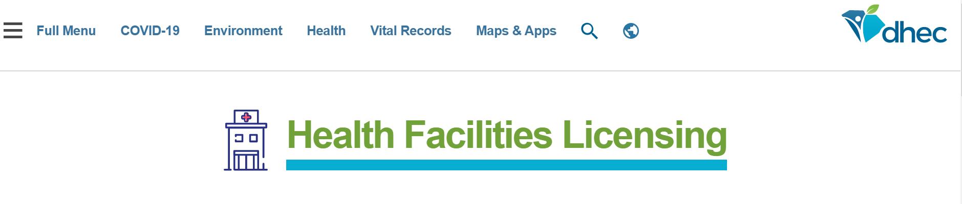 South Carolina Health Facility