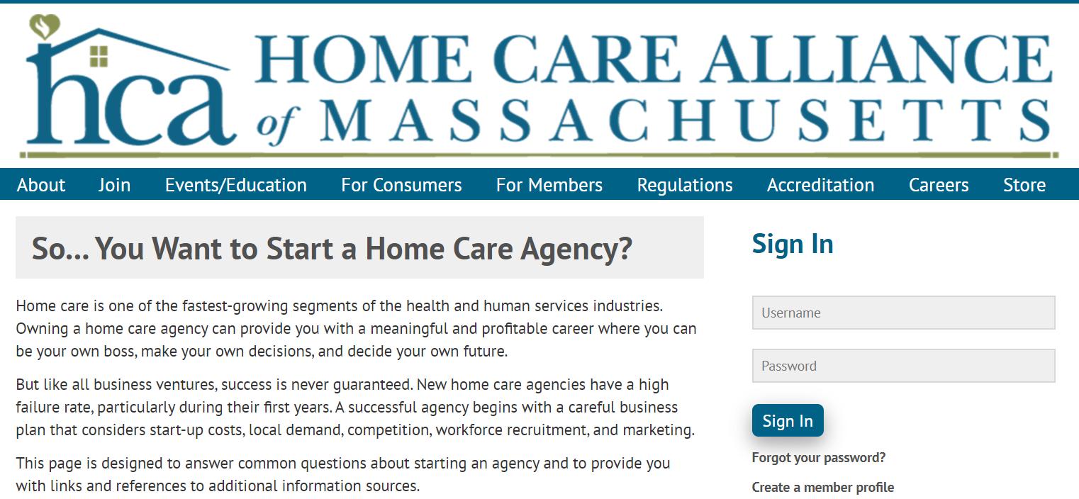 Home Care Massachusetts