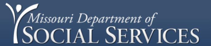 Missouri Department of Social Services EVV