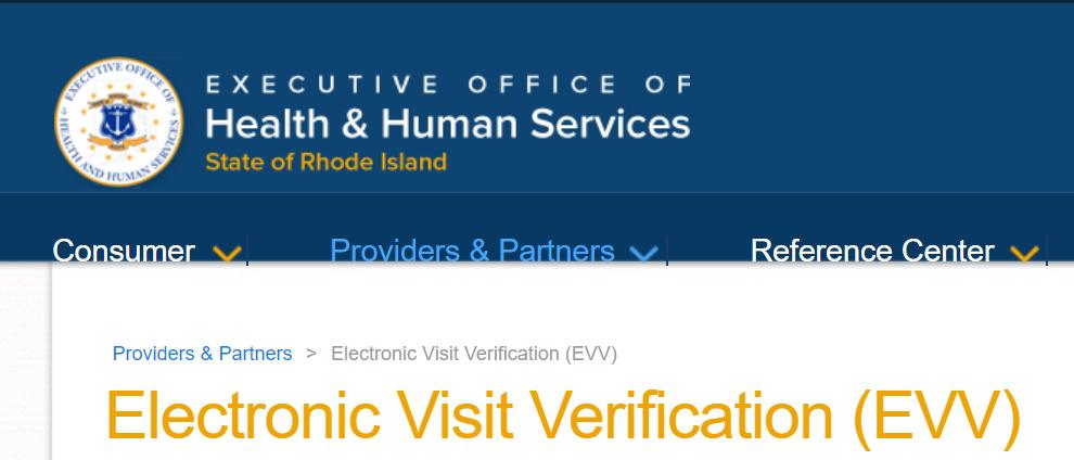 Rhode Island EVV